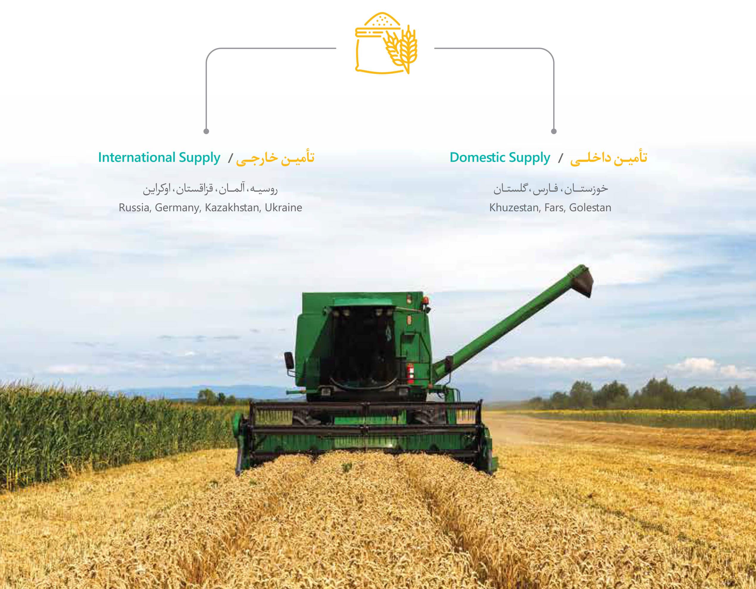 مدیریت زنجیره تأمین پایدار آرد